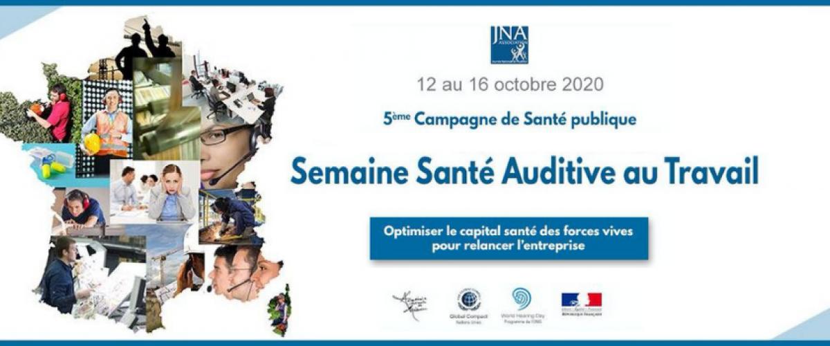 Webinar : Bruit au travail - Présentation de l'association JNA